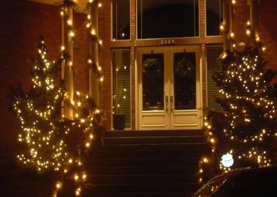Front Entry Garland Package