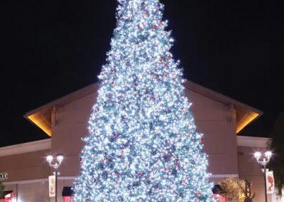 PURE WHITE LED PANEL TREE